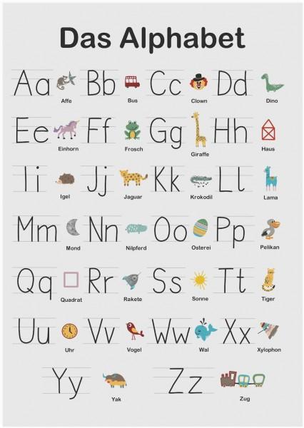 Poster ABC - Ich bin Schulkind