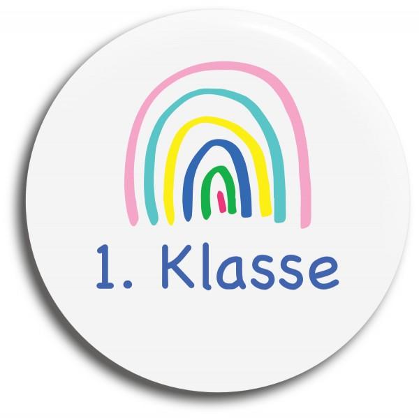 Button Regenbogen 1. Klasse