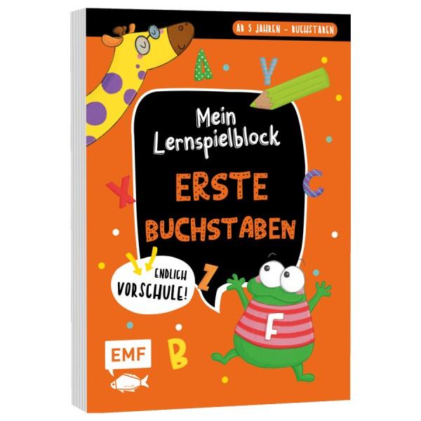 MEIN LERNSPIELBLOCK – Erste Buchstaben