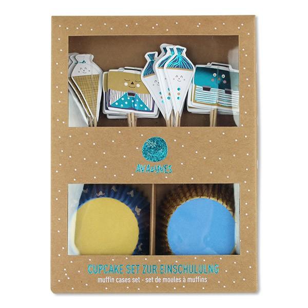 Cupcake Set Einschulung