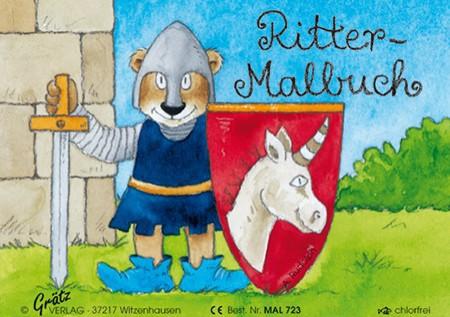 Grätz - Malbuch Ritter