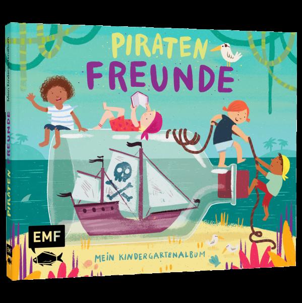 Kindergarten Freundebuch - Piratenfreunde