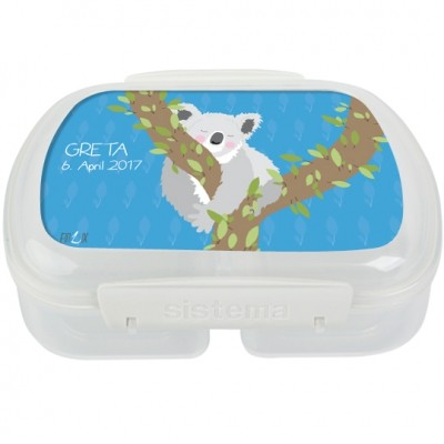 Finlix - Brotdose personalisiert Koala