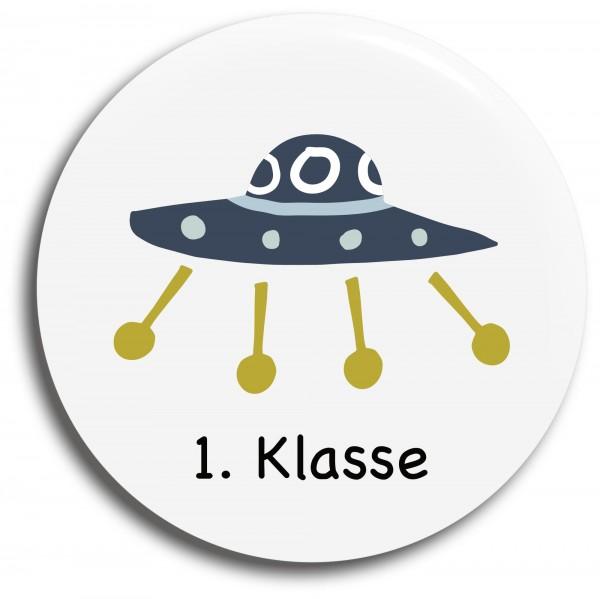Button Ufo 1. Klasse