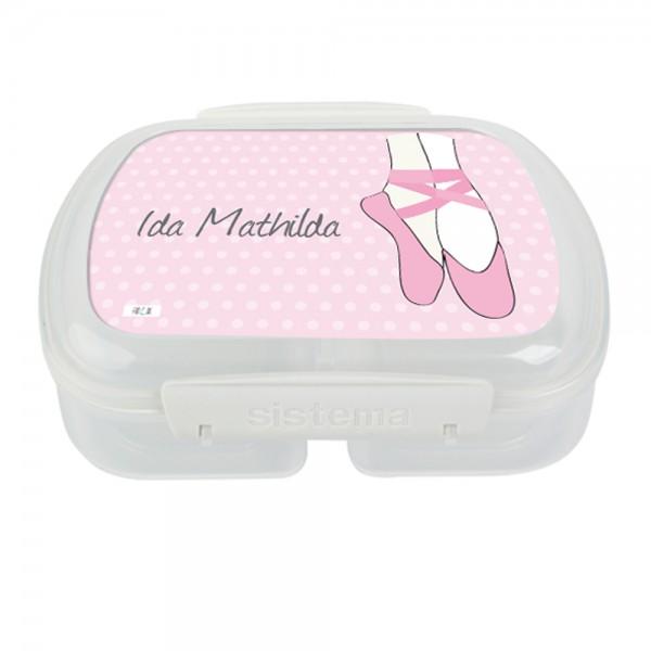 Lunchbox Ballett personalisiert - Finlix