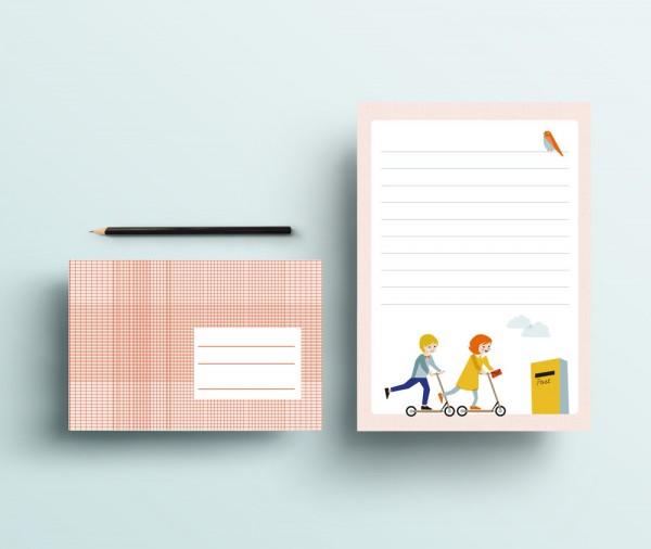 Briefpapier Set Kinder