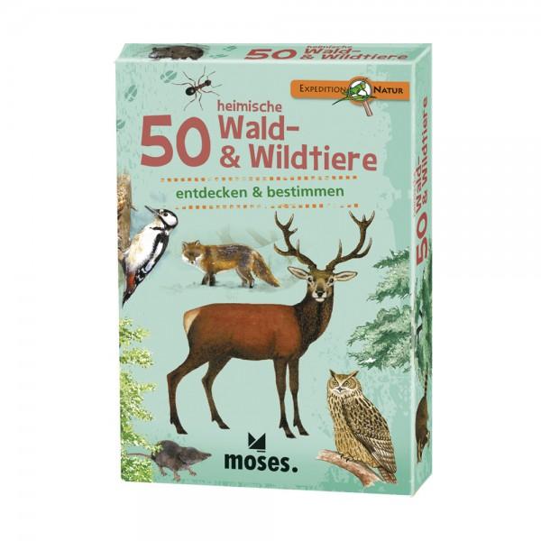 Kartenset 50 heimische Wald & Wildtiere erkennen