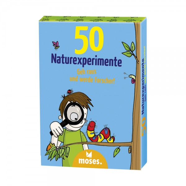 Kartenset 50 Naturexperimente mit Kindern