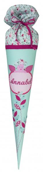 Schultüte Annabel mit Namen - Crepes Suzette