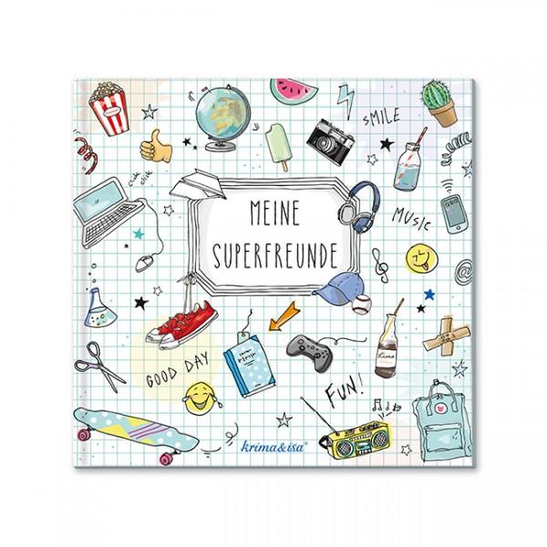 Krima & Isa - Freundebuch Meine Superfreunde Play
