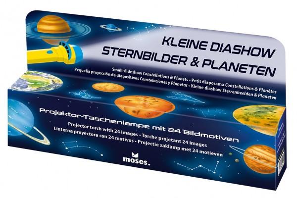 Diashow Sternbilder Taschenlampe