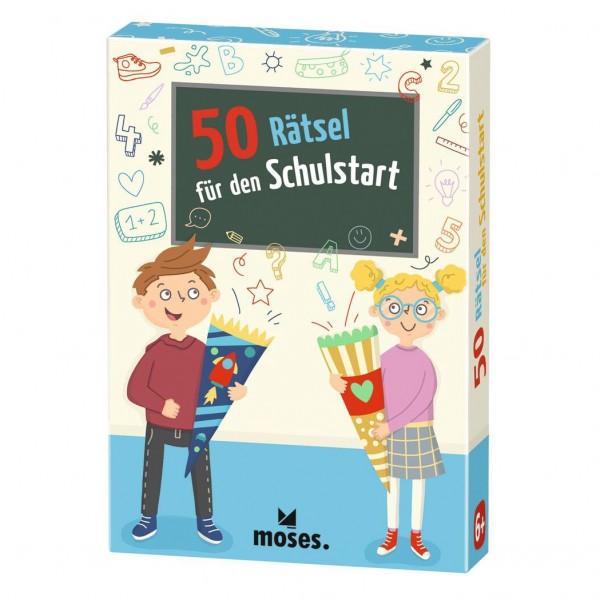 Kartenset 50 Rätsel für den Schulstart