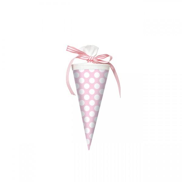 Krima & Isa - Mini Schultüte Punkte rosa