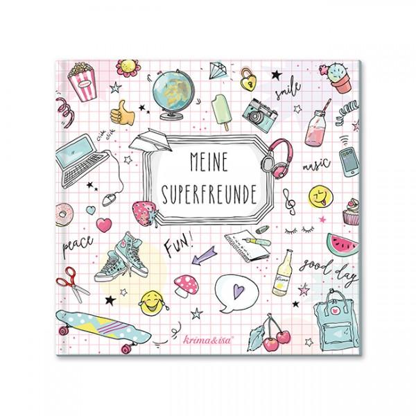 Krima & Isa - Freundebuch Meine Superfreunde Girlpower