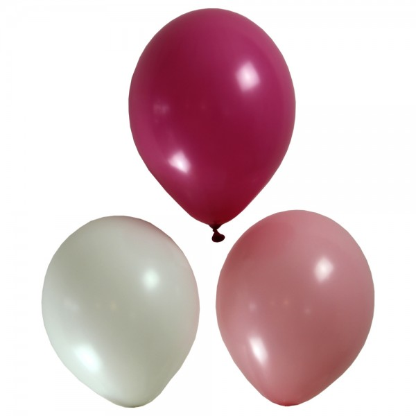 IBS Luftballon Set rosa/pink