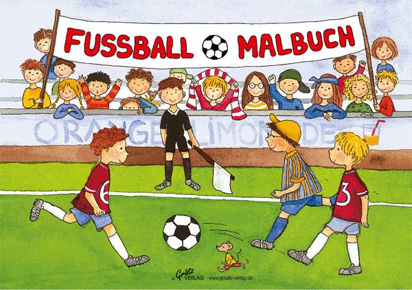 Grätz - Malbuch Fussball