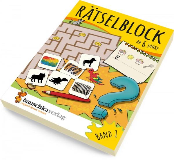 Rätselblock ab 6 Jahre Band 1