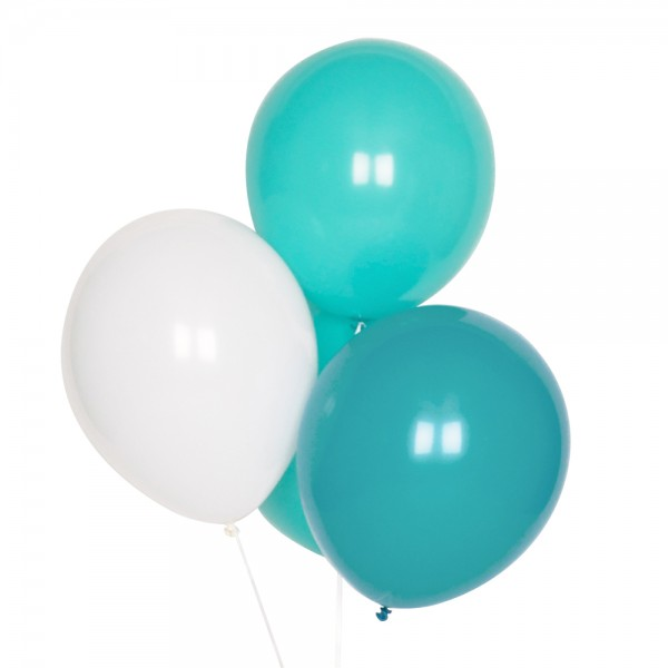Ballon Set aqua