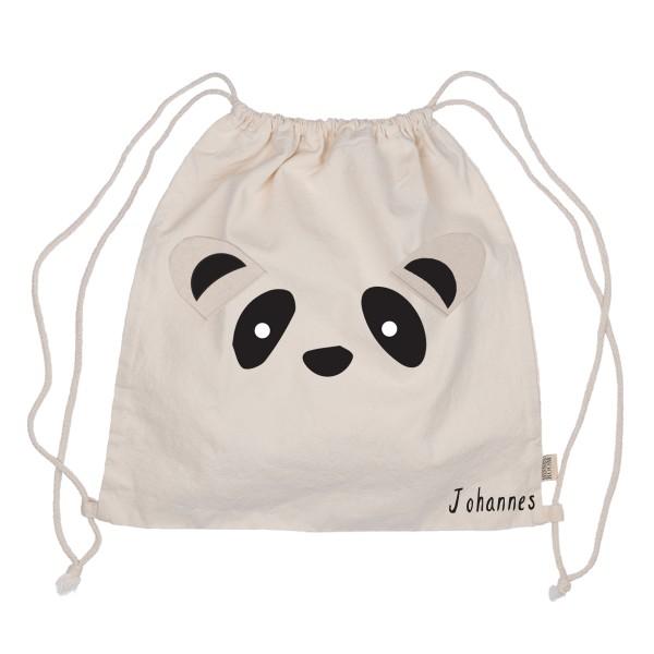 Minna Turnbeutel Pandabär