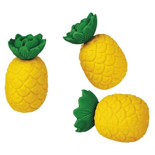 Ananas Radiergummi