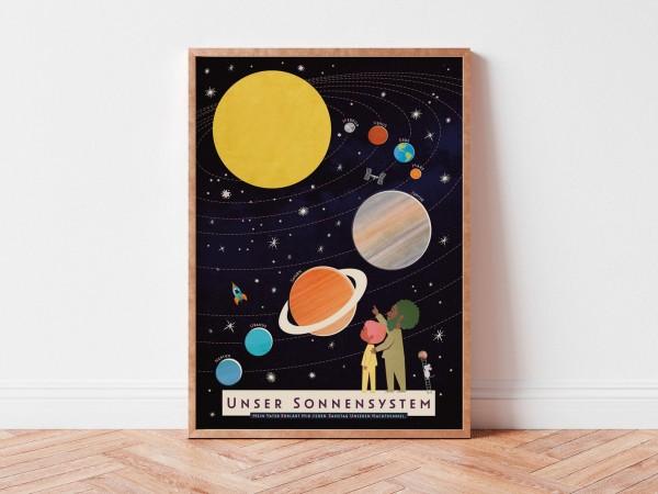 DIN A3 Poster Sonnensystem