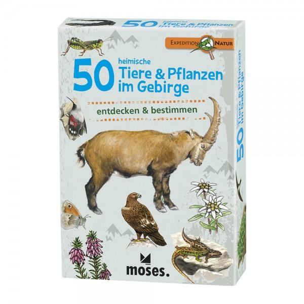 Kartenset 50 Tiere & Pflanzen im Gebirge