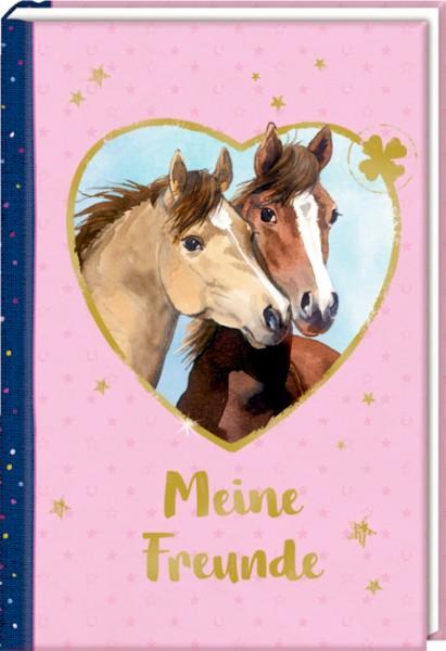 "Freundebuch Meine Freunde ""Porträt illustriert"" Pferdefreunde"