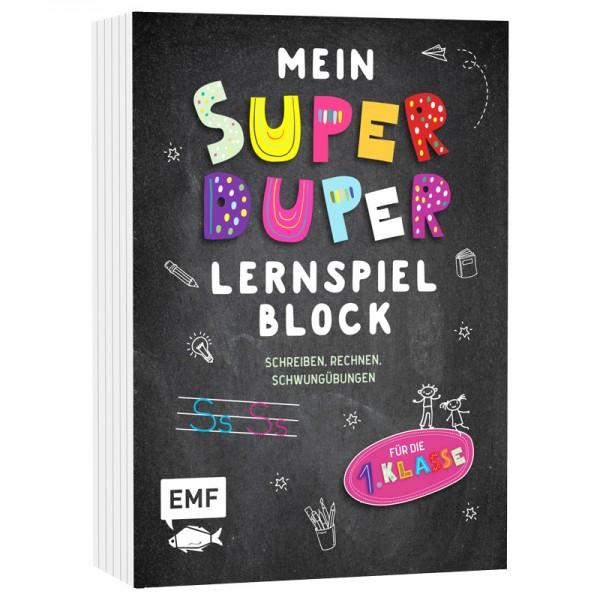 MEIN Super Duper Lernspielblock