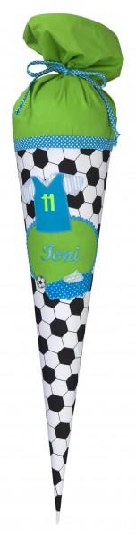 Schultüte mit Namen Fussball Toni - Crepes Suzette