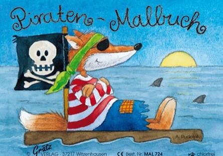 Grätz - Malbuch Pirat