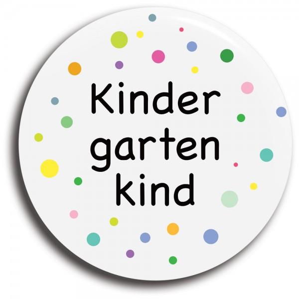 Button Punkte Kindergartenkind