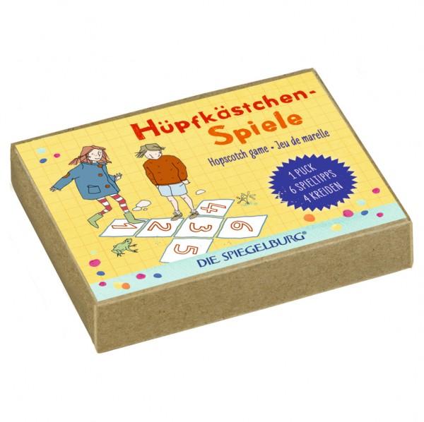 Spiegelburg - Hüpfkästchenspiel
