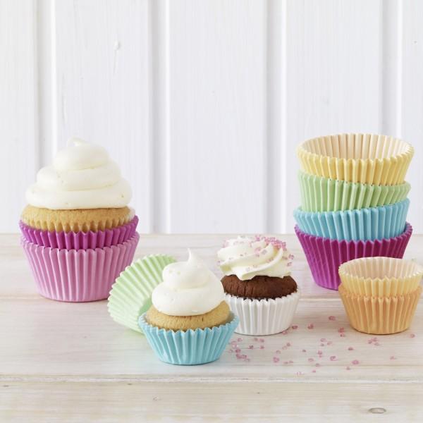 Muffin Förmchen Pastel - Weiss
