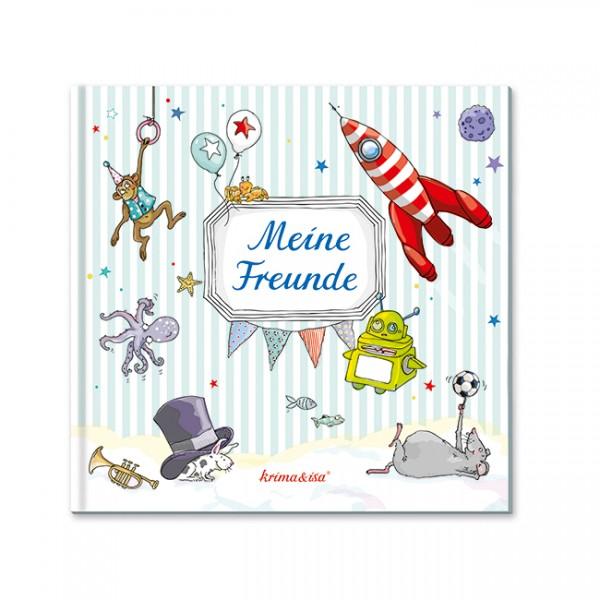 Krima & Isa - Freundebuch Meine Freunde türkis