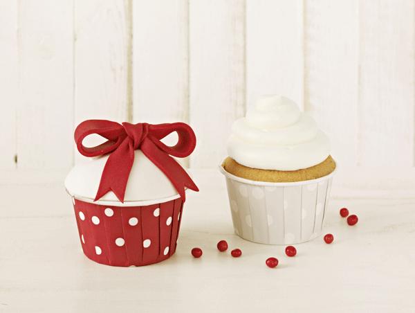 Cupcake Förmchen Punkte