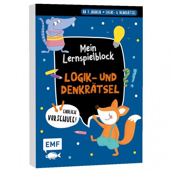 MEIN LERNSPIELBLOCK – Logik- und Denkrätsel