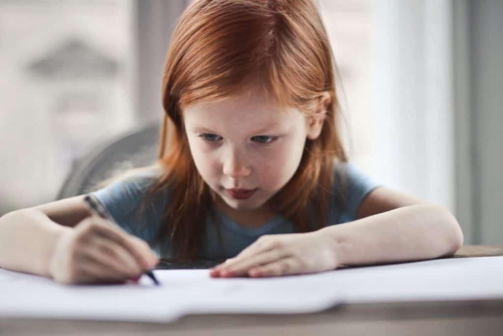 Geduld bei Hausaufgaben